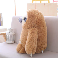 Fluffy Giant Plush Sloth Doll Soft Stuffed Animal Toys