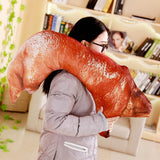 Simulation Stuffed Soft Trotter Toy Plush Pig Elbow Pillow Funny Toy