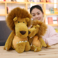Forest Animal Cute Little Plush Elephant Doll Stuffed Lion Kids Toy