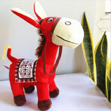 Cute Soft Lovely Stuffed Donkey Doll Cartoon Plush Animal Toy