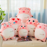 Lovely Soft Super Cute Pink Pig Plush Toy Stuffed Kids Birthday Doll