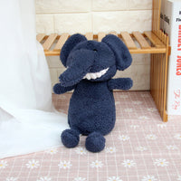 Smile Stuffed Bunny Dog Toy Soft Plush Elephant Bear Doll for Child