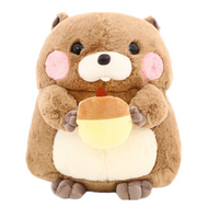 Super Cute Stuffed Hamster Toy Kids Gifts Soft Animal Plush Doll