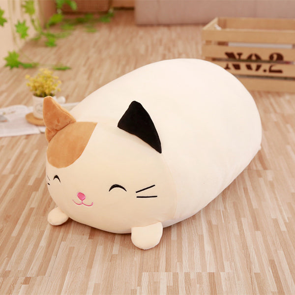 Soft Animal Cartoon Pillow Cushion Cute Fat Dog Cat