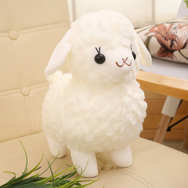 Super Soft Stuffed Sheep Toy Cartoon Plush Goat Cute Kids Animal Pillow