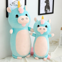 Plush Soft Dog Pig Pillow Kids Favor Cute Stuffed Unicorn Hamster Toy