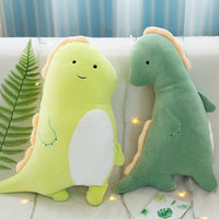 Light Color Stuffed Dinosaur Toy Soft Cute Plush Animal pillow for Kid