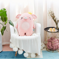 Plush Cute Soft Pig Pillow Kids Stuffed Cartoon Animal Toy