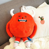 Cute Plush Soft Emoji Pillow Colorful Cute Stuffed Monster Toy
