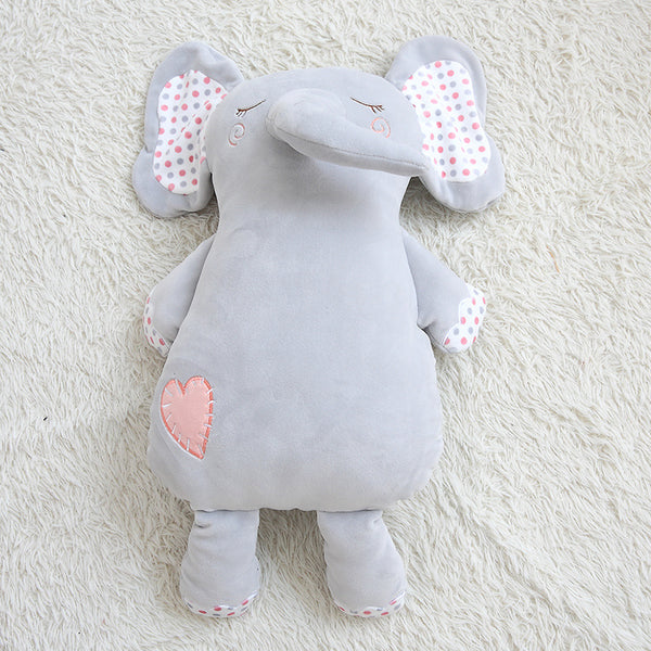 Stuffed Soft Cute Elephant Doll Kids Pillow Cartoon Plush Animal Toy
