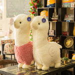 Cartoon Alpaca Plush Doll Toy Fabric Soft Stuffed Animal Plush Toys