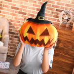 Halloween Pumpkin Plush Toy Fluffy Stuffed Pumpkin Pillow Funny Gift