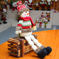 Super Soft Plush Toys for Christmas Cute Snowman Deer Toy for Party