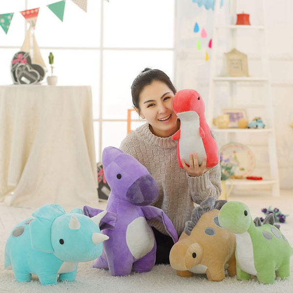 Creative Dinosaur Cartoon Plush Doll Hold Pillow Gift Stuffed Toy