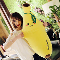 Creative Soft Banana Plush Pillow Staffed Fruit Cushion girls Gift