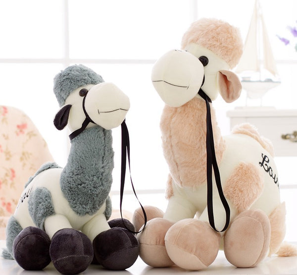 Cute Soft Camel Plush Stuffed Toy Creative Plush Animals Llama Doll