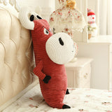 Lovely Cute Cartoon Soft Stuffed Cattle Super Soft Animal Plush Pillow