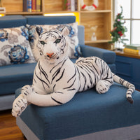 Realistic Soft Plush Tiger Toy Big Size Stuffed Animal Toy
