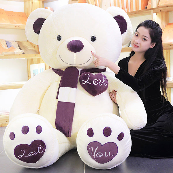 Cute Stuffed Cartoon Teddy Bear Toy Soft Plush Animal Pillow Baby Gift