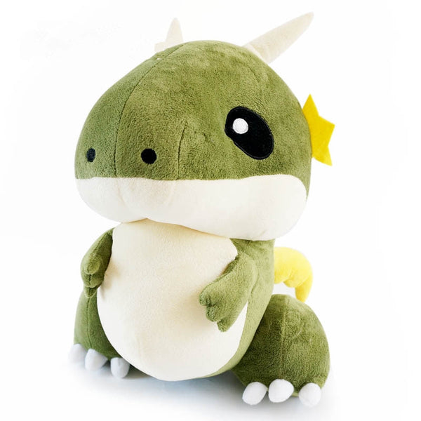 Giant Plush Creative Cute Dinosaur with Wind Toy Stuffed Kids Pillow