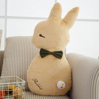 Cute Bunny Plush Rabbit Toy Soft Cloth Stuffed Animal Pillow