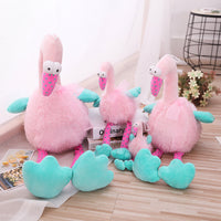 Creative Flamingo Toy Pink Lovely Stuffed Animals Plush Toy Kids Doll