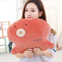 Super Cute Stuffed Whale Toys Baby Soft Octopus Plush Dolls Kids Gifts