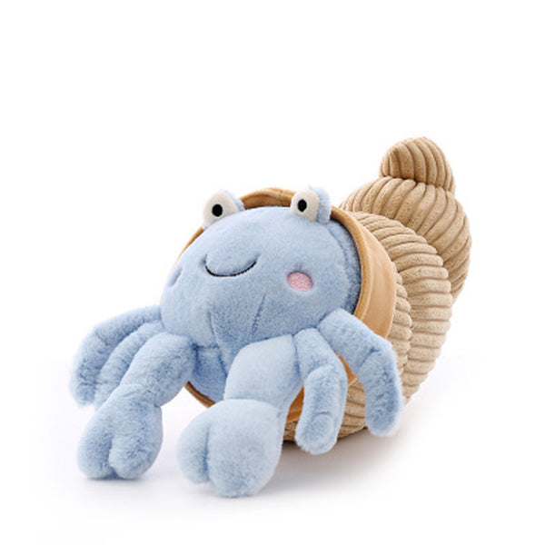 Creative Hermit Crab Plush Toys Soft Stuffed Animals Pillow Dolls