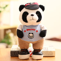 Super Cute Soft Plush Cat Dog Bear Doll Kids Gifts Stuffed Panda Toy