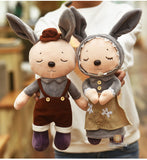 Couples Rabbit Plush Toys Bunny Sleep Doll Rabbit Wedding Press Dolls