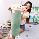 Cute Pig Plush Toy Soft Stuffed Cartoon Animal Pig Doll Pillow