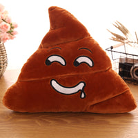 Plush Poop Shape Pillow Decorative Funny Emoji Cushion baby gifts