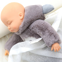 Sleeping Newborn Baby Dolls Soft Silicone Lifelike Baby Plush Toys
