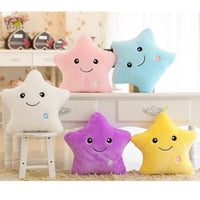Luminous Star Pillow Cushion Led Colorful Glowing Star Plush Doll Toy