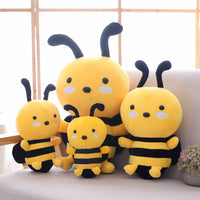 Cute Stuffed Plush Toy Bee Soft Animal Bee Doll Pillow for Kids