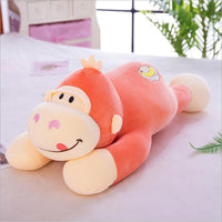 Cute Cartoon Monkey Plush Toys Stuffed Animal Monkey Doll Pillows