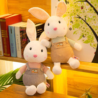 Cartoon Shy Rabbit Doll Pillow Children Stuffed Bunny Plush Toys