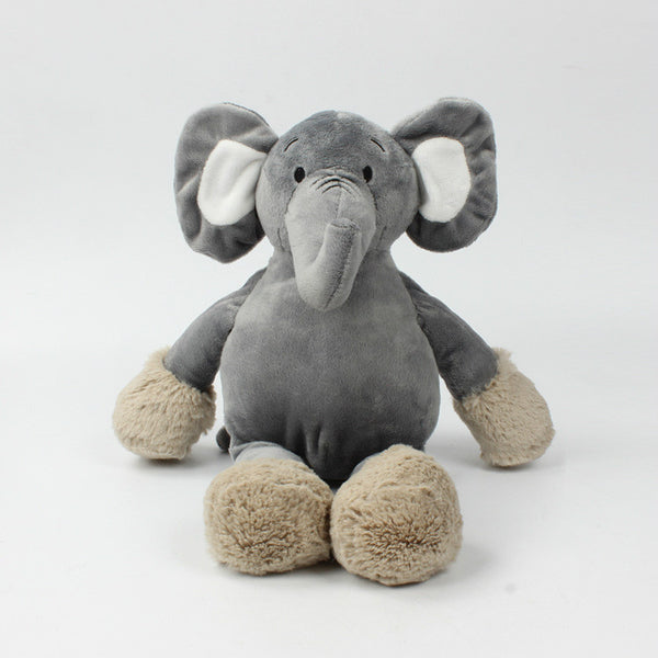 Stuffed Cute Elephant Toy Kids Gifts Baby Toy Plush Cartoon Pillow
