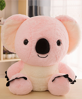 Big Head Soft Plush Pink Koala Toy Kids Gifts Stuffed Animal Pillow