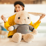 Cute Lovely Stuffed Bunny Pillow Plush Animal Toy for Kid Girl Baby