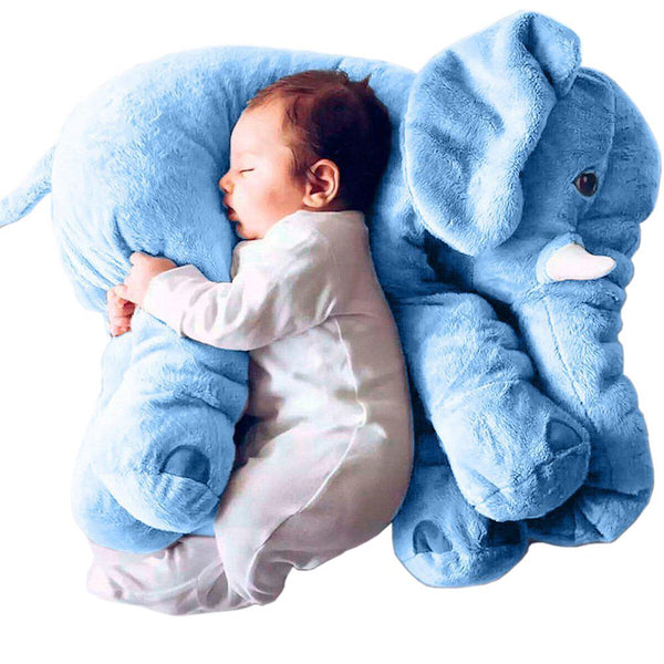 Elephants Toys For Kids & Adults Super Soft Cute Big Stuffed Elephant Plush Toys Blue