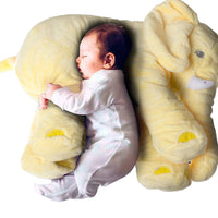 Elephants Toys For Kids & Adults Super Soft Cute Big Stuffed Elephant Plush Toys Yellow