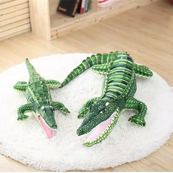 Simulation Alligator Stuffed Toy Soft Plush Crocodile Animal Pillow