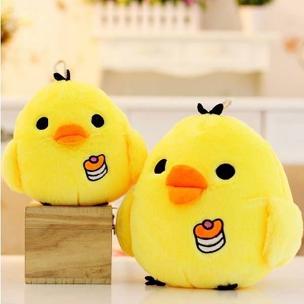 Cartoon Soft Stuffed Cute Chicken Doll Girls Gifts Plush Animal Pillow