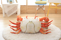 Soft Cute Simulation Plush Toy Giant Stuffed Crab Pillow Kids Pillow