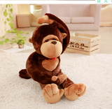 Cute Stuffed Long Arm Monkey Toy Lovely Animal Plush Doll Big Pillow