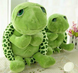 Realistic Stuffed Animals Super Cute Green Big Eyes Stuffed Turtles