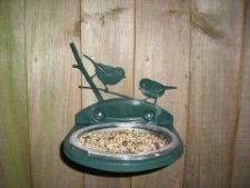 Deep dish bird feeder
