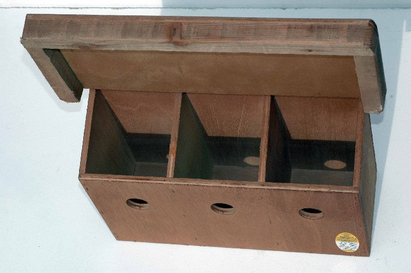 Nest box for sparrows