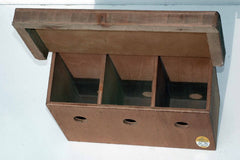 Tradional House Sparrow Nest Box